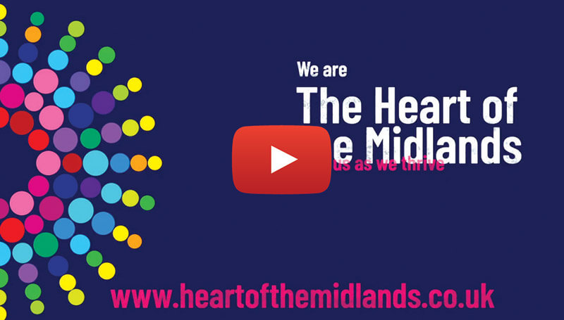 We are Heart of the Midlands YouTube video